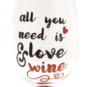 All You Need Is Love & Wine Glass,