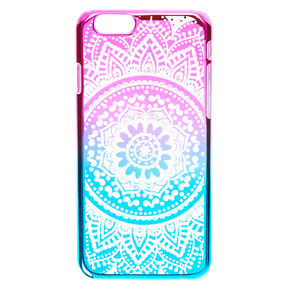 Rainbow Mandala Phone Case,