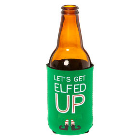 Elfed Up Drink Koozie,