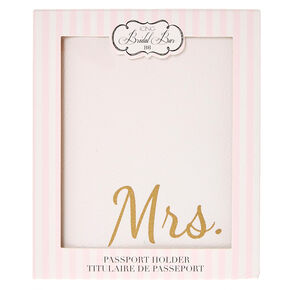 Mrs. Passport Holder,