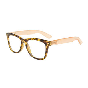 Tortoise Rectangle Eyewear,
