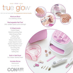 Conair® True Glow All-In-One Nail Care System,