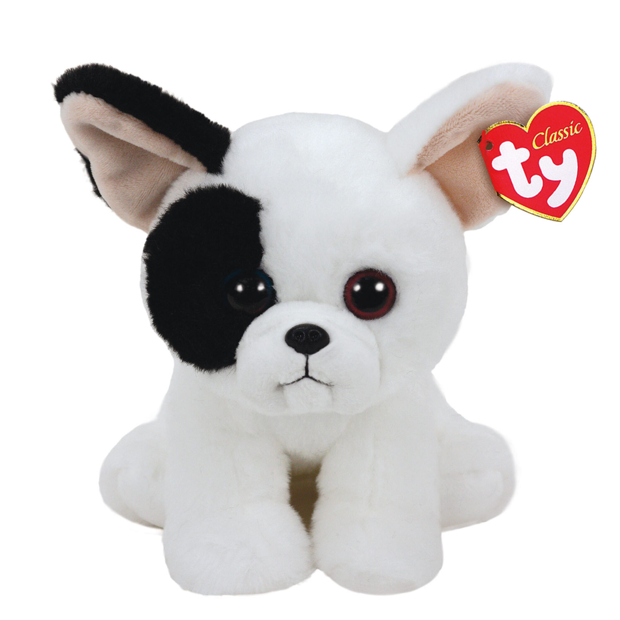 TY Beanie Baby Small Marcel the French Bulldog Soft Toy