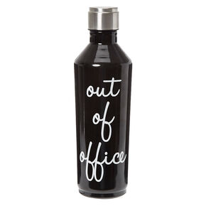 Out of Office Water Bottle,