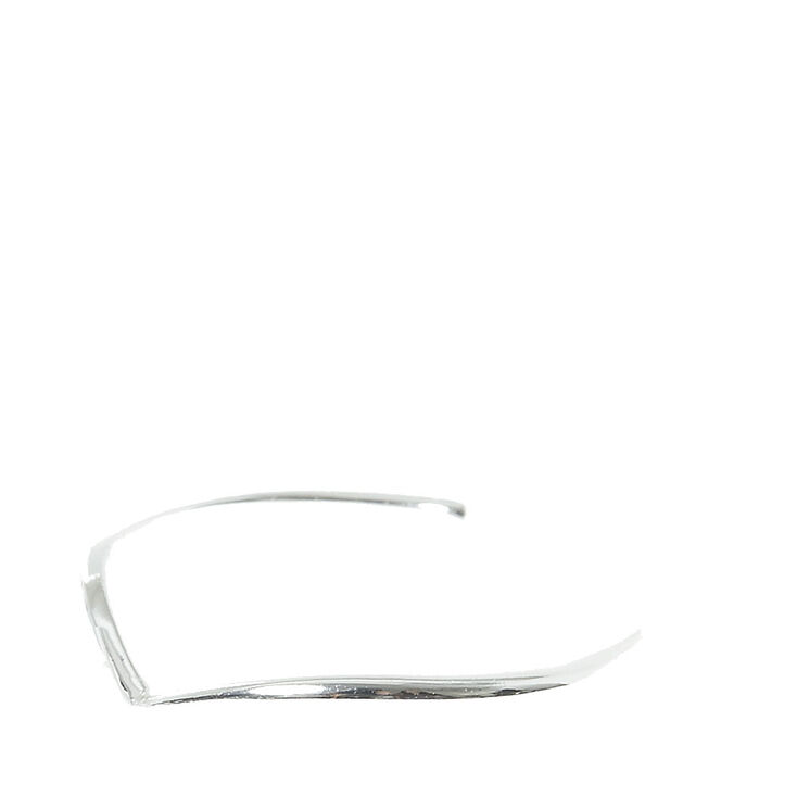 Sterling Silver Chevron Wire Toe Ring,