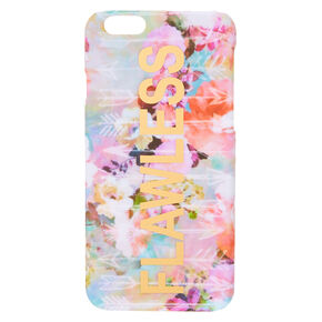 Flawless Floral Phone Case,
