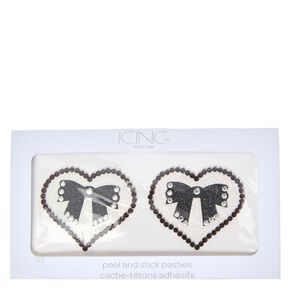 Heart + Bow Pasties,