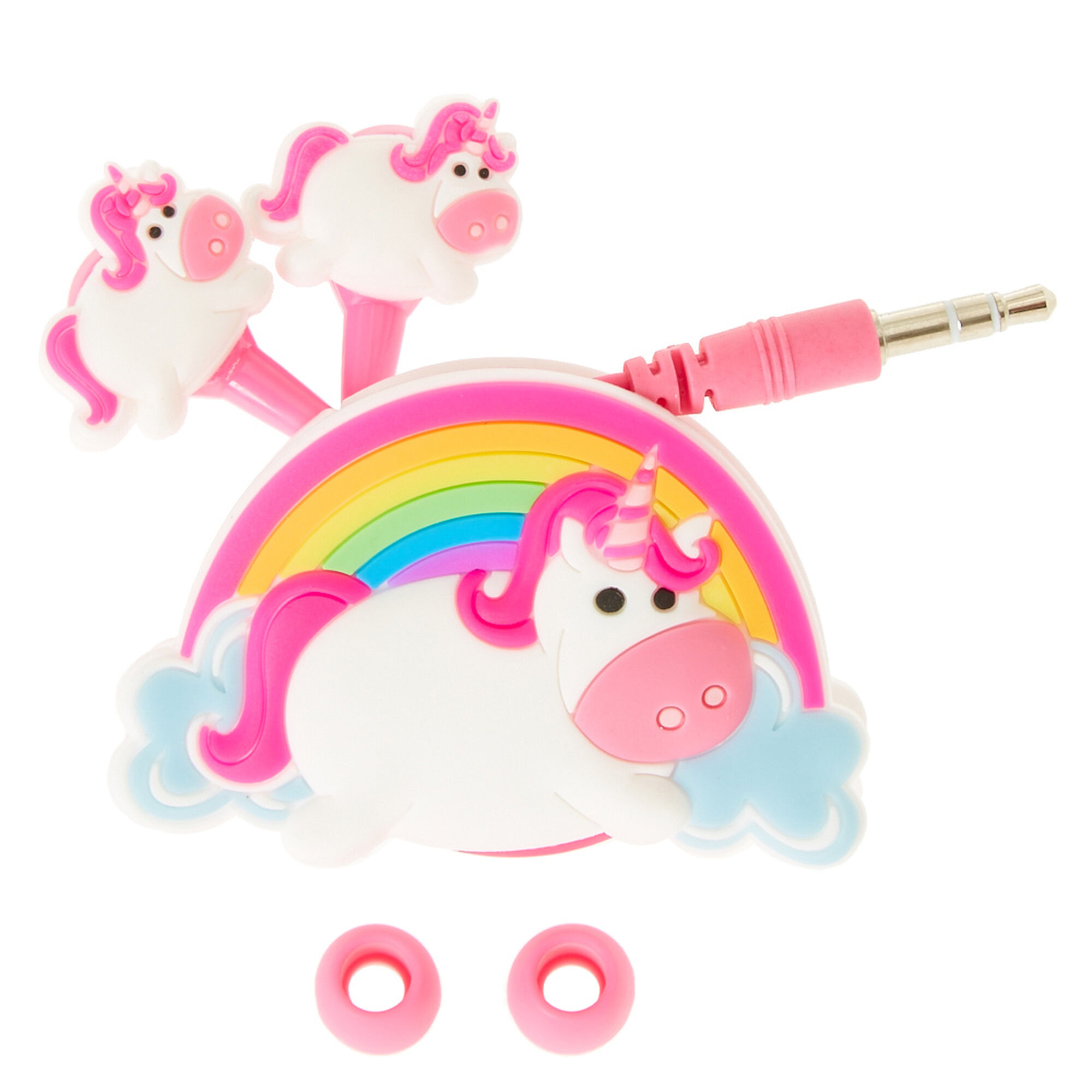 Unicorn Earbuds And Winder Claire S Us