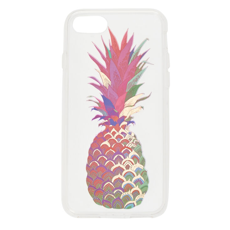 Water Color Pineapple Phone Case,
