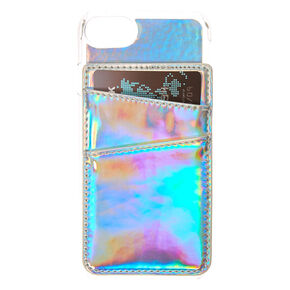Holographic Card Holder Phone Case,