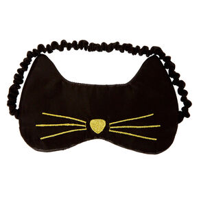 Black Cat Sleeping Mask,