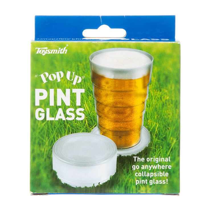 Pop Up Travel Pint Glass,