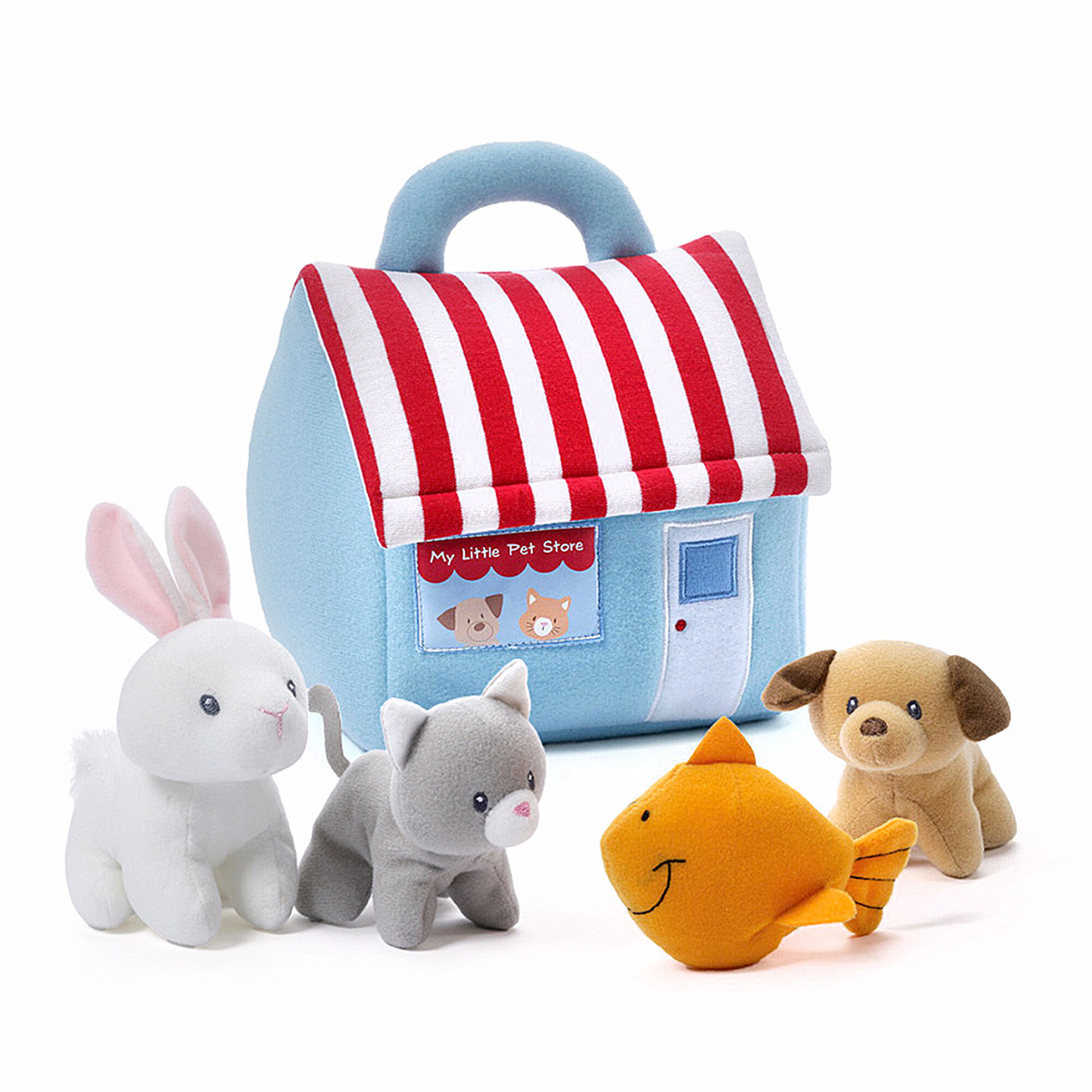 Kids Baby Gund My Little Pet Shop Soft Playset