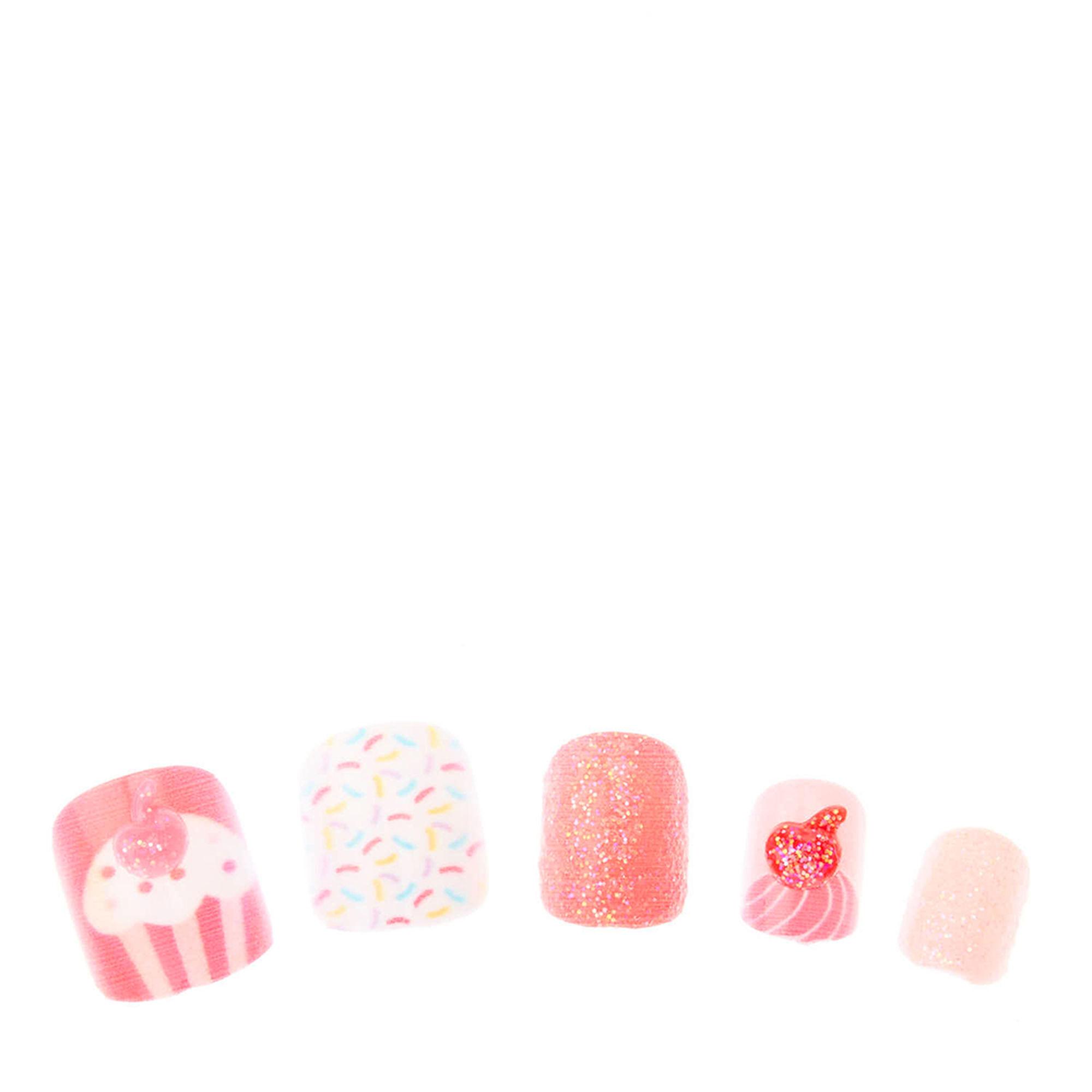 cupcake false nails claire 39 s us. Black Bedroom Furniture Sets. Home Design Ideas