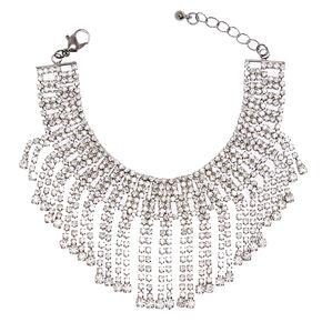 Crystal Fringe Bracelet,