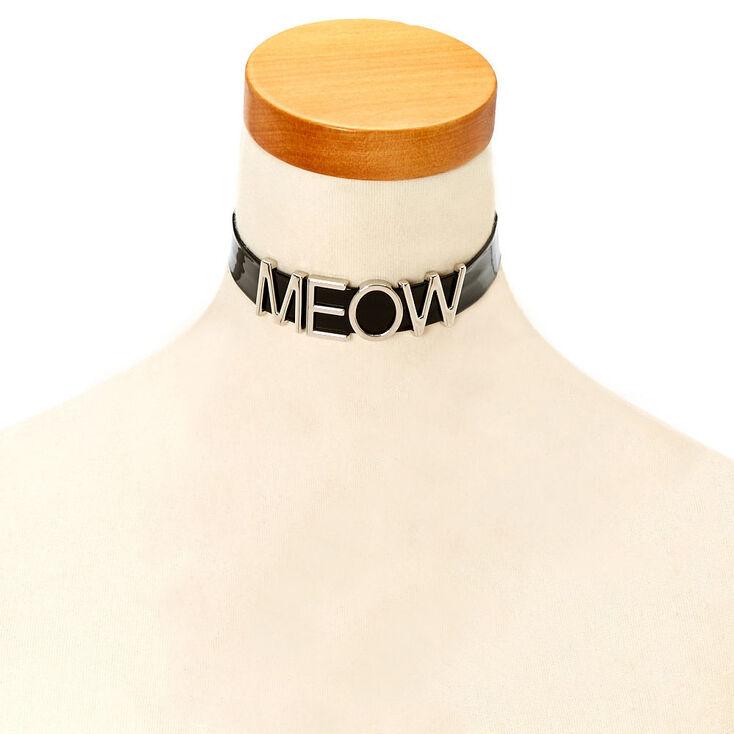 MEOW Choker Necklace,