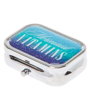 Mermaid Vitamins Pill Box,