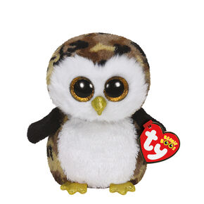 Ty Beanie Boos Small Owliver the Owl Plush Toy,