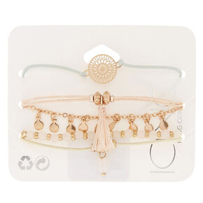 Assorted Pastel Bracelet Set,
