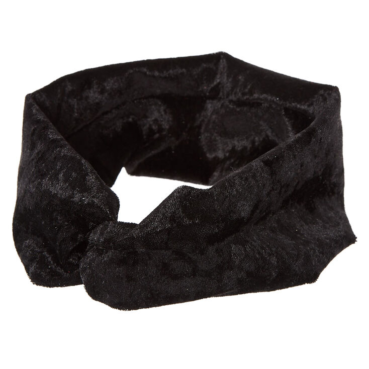 Black Velvet Headwrap,