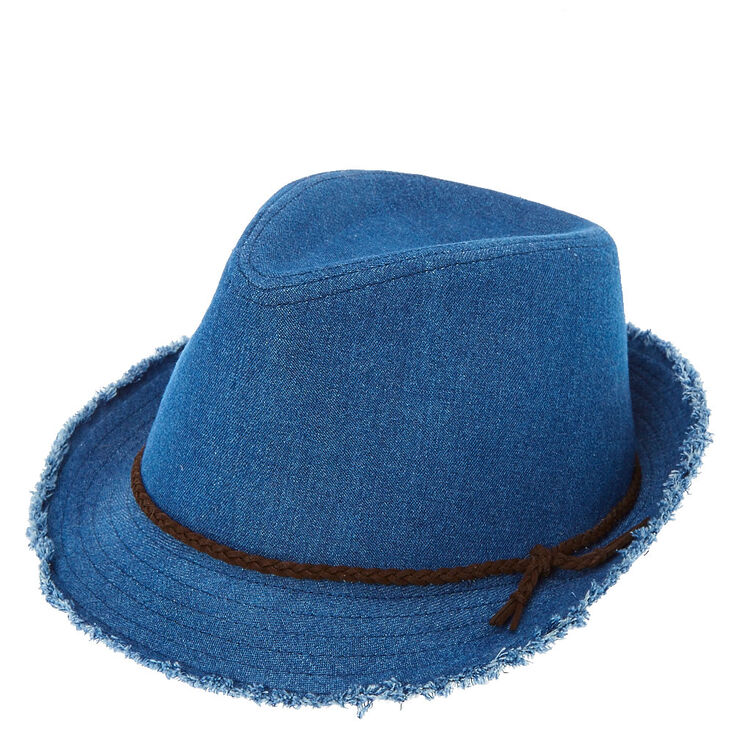 Blue Denim Fedora at Icing in Victor, NY | Tuggl