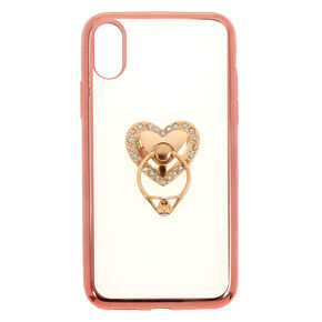 Heart Ring Holder Phone Case,