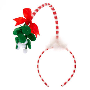 Floating Mistletoe Headband,