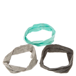 Mint & Gray Headwraps,
