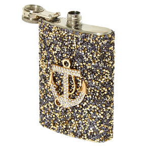 Crushed Crystal Anchor Flask,