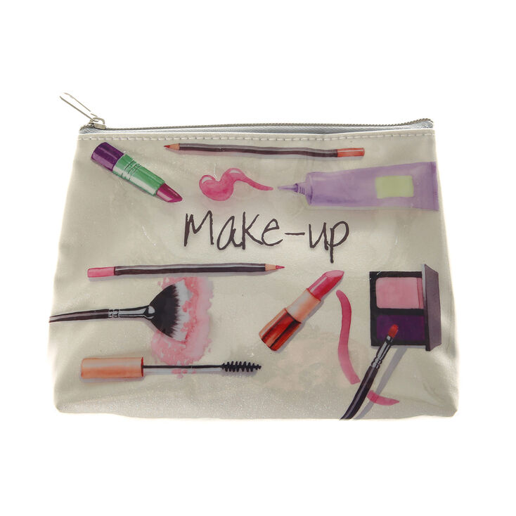Kiss And Makeup On Site: Kiss And Make Up Glitter Parcel Cosmetics Bag