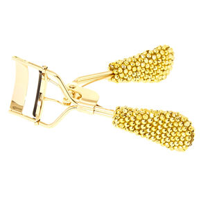 Gold Crystal Eyelash Curler,