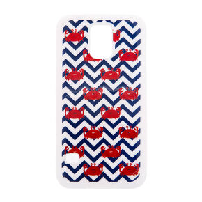 Crab and Chevron Cover for Samsung Galaxy S5,