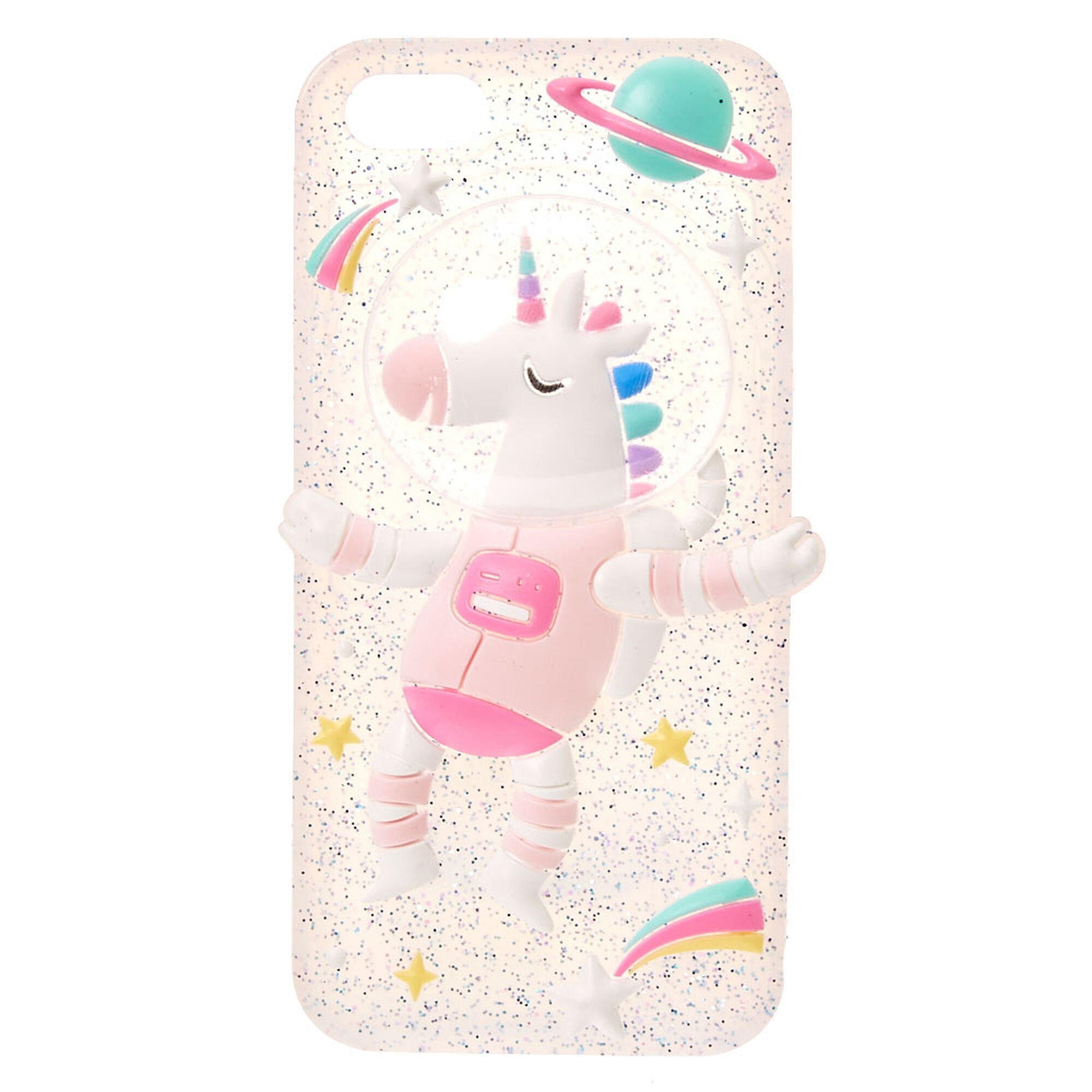 space unicorn phone case claire 39 s us. Black Bedroom Furniture Sets. Home Design Ideas
