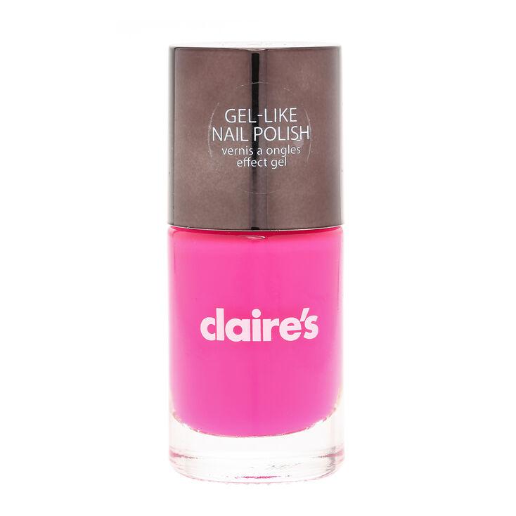 Vernis ongles effet gel rose fluo claire 39 s fr - Gel rose fluo ...