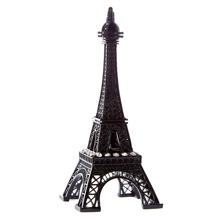 Black Eiffel Tower Ring Holder Claire S Us