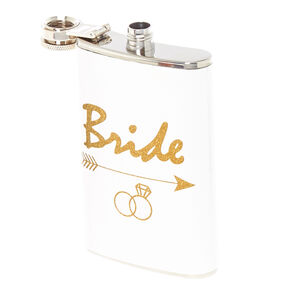 White Bride Flask,