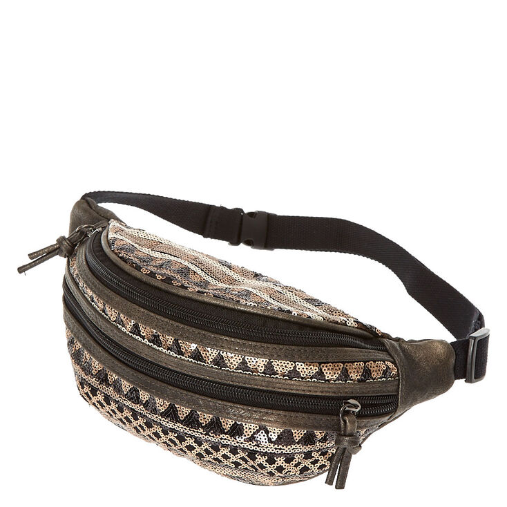 Sequins Fanny Pack,