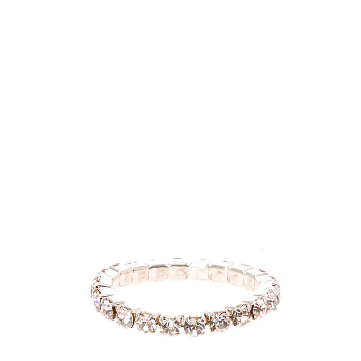 Clear Stretch Toe Ring,