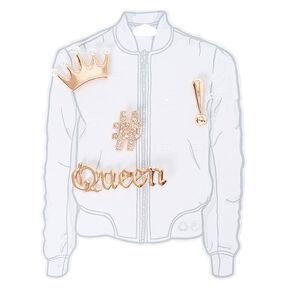 Rose Gold Queen Pin Set,