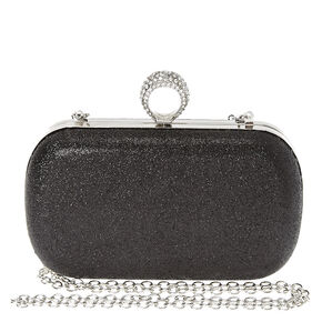 Black Ring Clutch Box,