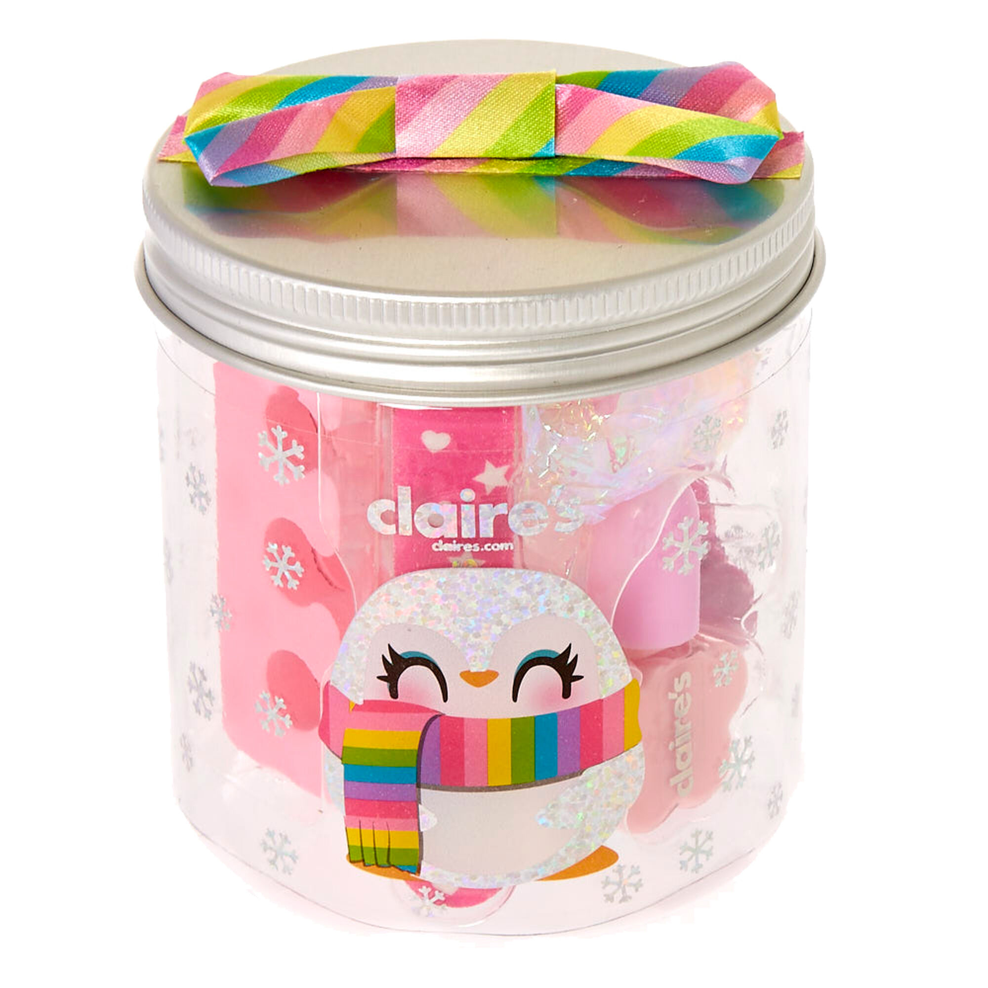 Kids makeup beauty cosmetics claires peppie the penguin manicure gift set geotapseo Images