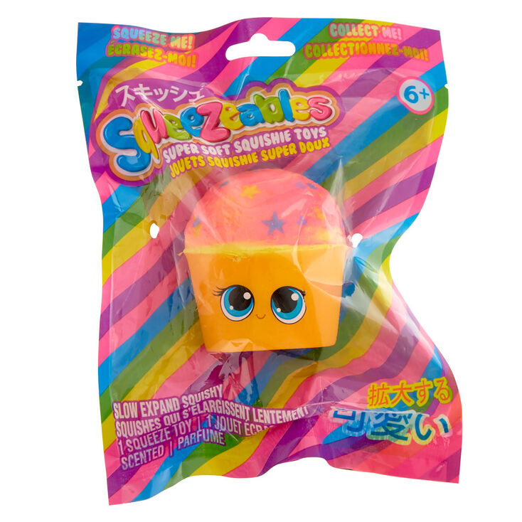 Squishy Toys Europe : Squeezables Cupcake Squishy Toy Claire s CA
