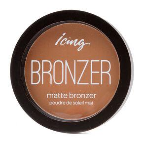 Icing Medium Dark Matte Bronzer Compact,