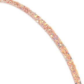 'Pink Glitter Headband,