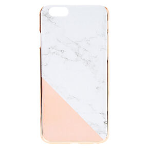 Rose Gold and Marble Phone Case,