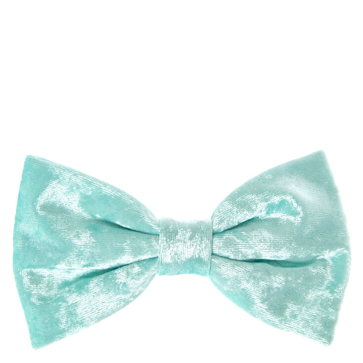 Mint Velvet Hair Bow Clip,