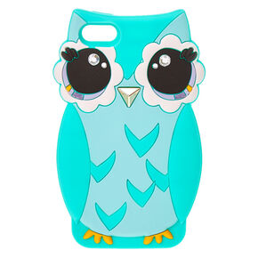 Cute Mint Green Owl iPod® Case,