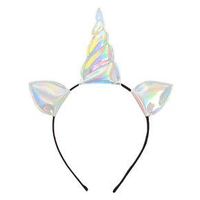 Holographic Unicorn Horn Headband,