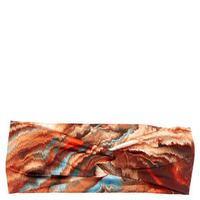 Sand Dunes Wide Jersey Headwrap,