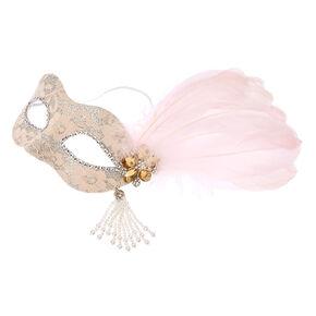 Blush Pink Masquerade Mask,